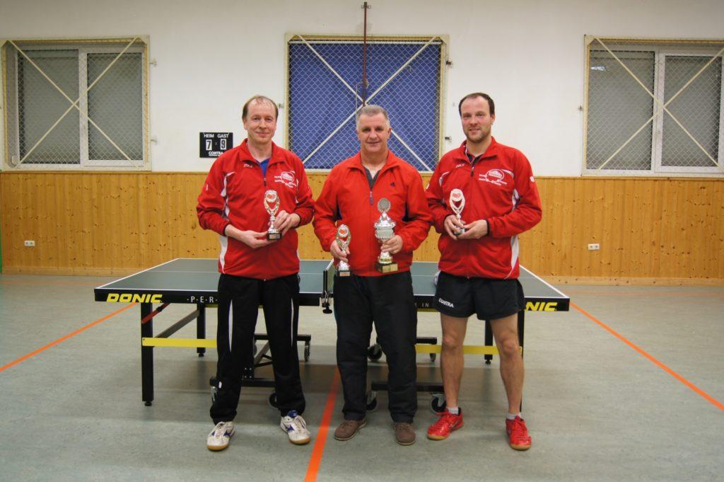 Köhler, Lutz (2. Platz) - Matthee, Karl-Heinz (1. Platz) - Schmieder, Chris (3. Platz)